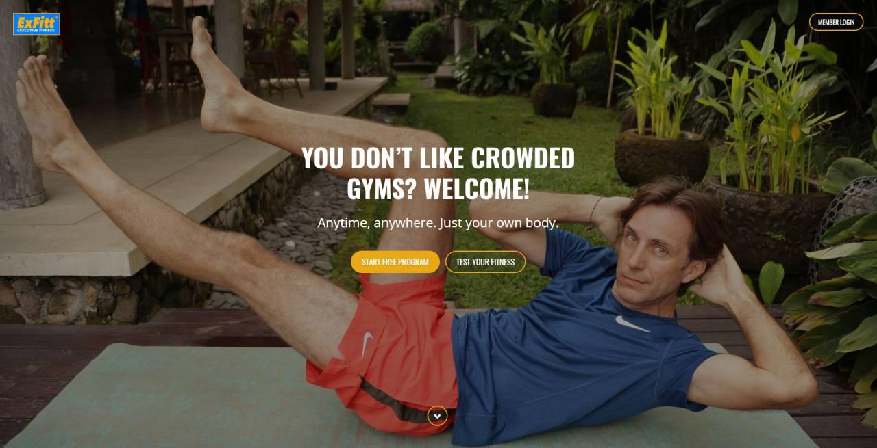 ExFitt: Strong Core and Flexible Body Fitness Program | ExFitt